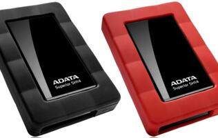 ADATA Launches Stylish and Sturdy SH14 Portable Hard Drive