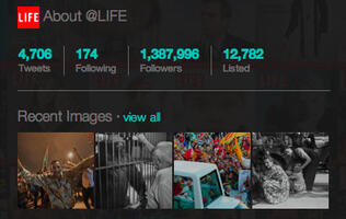 Twitter Unveils User Galleries