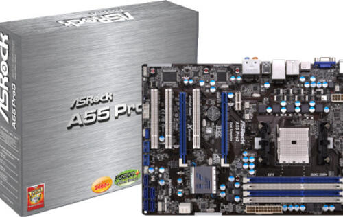 ASRock Launches A55 Motherboard Series