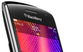 RIM Introduces New BlackBerry Curve Smartphones