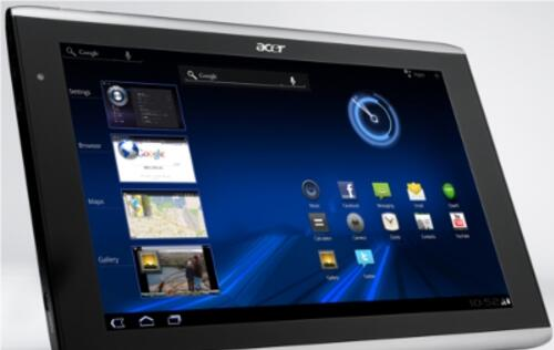 Acer Presents Tablets, Notebooks and More at Comex 2011
