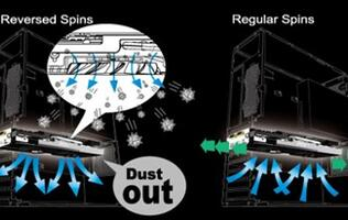 MSI Dust Removal Technology Promises Significant Reduction of Dust Buildup