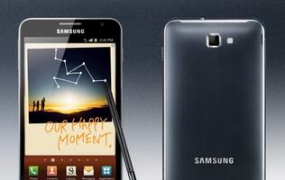 Samsung to Release Galaxy Note, a 5.3-inch Touchscreen Smartphone