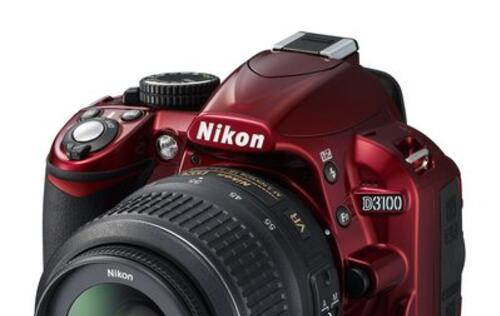 Nikon D3100 - Now in Red!