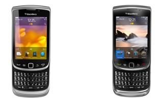 First Looks: BlackBerry Torch 9810