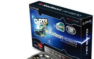 Sapphire Announces HD 6870 Dirt3 Special Edition