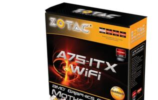Zotac Announces A75-ITX WiFi