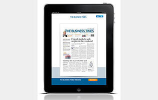The Business Times Weekend to Launch its iPad App on 1 Oct