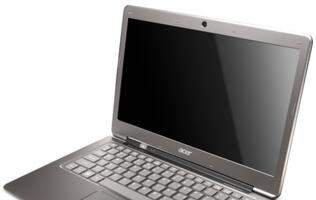 Acer Debuts First Ultrabook, Aspire S3