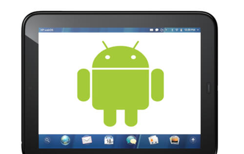 HP TouchPads Shipped with Google Android