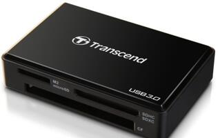 Transcend USB 3.0 Multicard Reader RDF8 Introduced