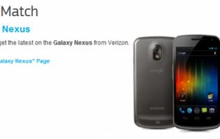 Galaxy Nexus Leaked on Samsung Website