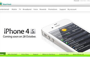 StarHub Announces Prices for iPhone 4S