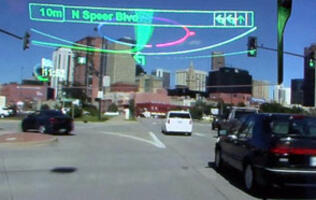 Pioneer to Introduce AR-HUD Car Navigation System in 2012
