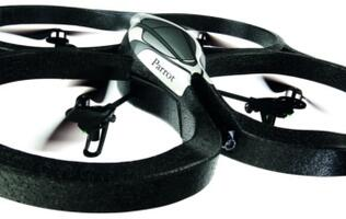 Parrot AR.Drone - Augmented Reality + Remote-Controlled Quadrocopter