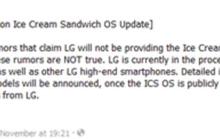 Select LG Optimus Devices Getting Both Gingerbread and ICS [Update]