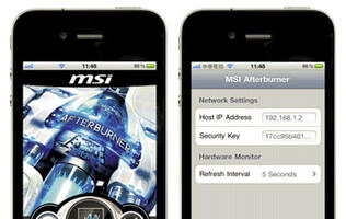 Overclock Desktop Graphics with the MSI Afterburner for iOS