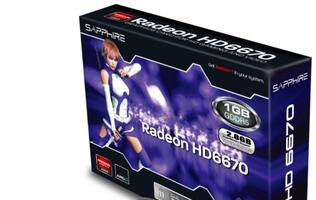 Sapphire Radeon HD 6670 Single Slot Low Profile Launched
