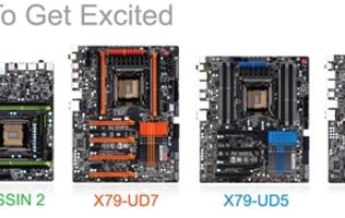Gigabyte X79 Motherboard Updates - An Assassin and 3 Tough Guys