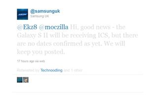 Samsung Galaxy S II Getting ICS Update