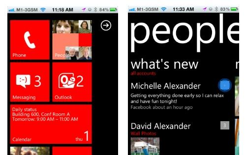 Experience Windows Phone 7 on iOS or Android