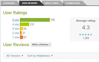 Android Market Web Store Gets User Review Filters
