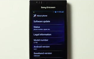 Sony Ericsson Releases Android 4.0 Alpha ROM for Xperia Phones