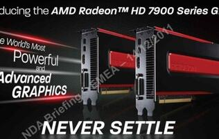 Revealed:  AMD Radeon HD 7970 - The New King of Graphics?