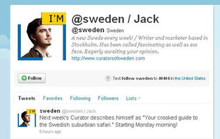 Sweden Hands its Twitter Account to its People