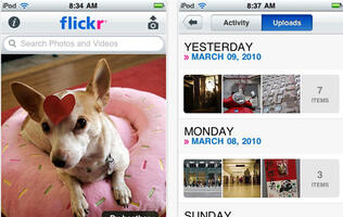 Flickr App Updated for iPhone