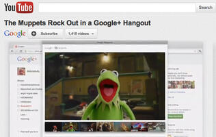 Did the Muppets Boost Google+ Growth?