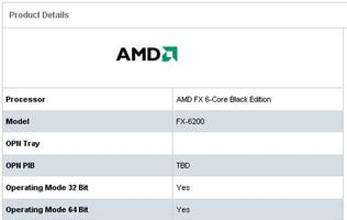 AMD Plays Peek-a-Boo with the FX-6200 Black Edition Processor