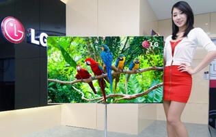 LG Unveiling 55-inch OLED TV at CES 2012