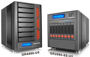 RAIDON Launches Scheduled Backup and Reliable SAS Storage Solutions