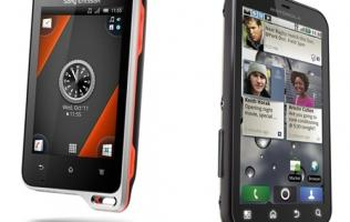 Sony Ericsson Xperia Active - Android Training Buddy