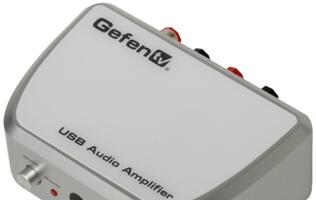 Gefen's USB Audio Amplifier Allows High Quality Sound Output
