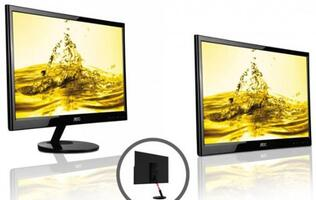 AOC to Unveil HD USB-Powered 22-inch Monitor at CES 2012