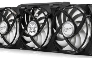 Arctic's Accelero Xtreme Cooler for Upcoming Radeon HD 7900/7800 Series