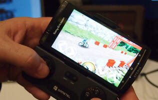 Gametel Wireless Controller Spotted at CES Unveiled 2012