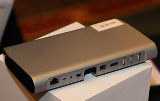 Belkin's New Thunderbolt Express Dock Revealed at CES Unveiled 2012