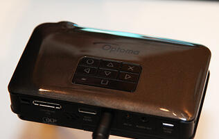 Optoma Ups the Ante with High Lumen LED Pico and Mobile Projectors