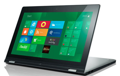Lenovo Ideapad Yoga Both a Tablet And Notebook