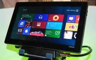 Sneak Peek - NVIDIA Tegra 3 Tablet Running Windows 8