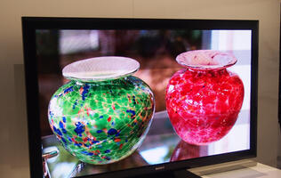 Sony Showcases Prototype 55-inch Crystal LED TV at CES 2012