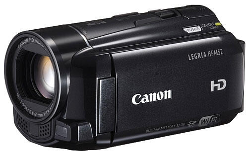 New Canon Camcorders Sport Social Sharing Features