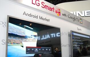 LG to Ship Google TV Sets Late This Quarter