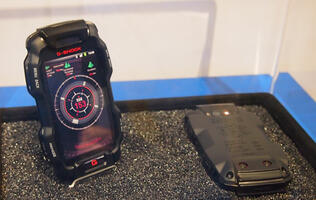 Casio Presents Concept G-Shock Smartphone at CES 2012