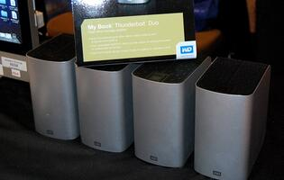 Western Digital Shows off Thunderbolt External Drives at CES 2012
