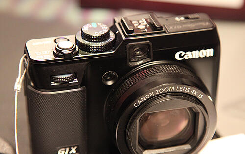 Hands-on: Canon PowerShot G1 X