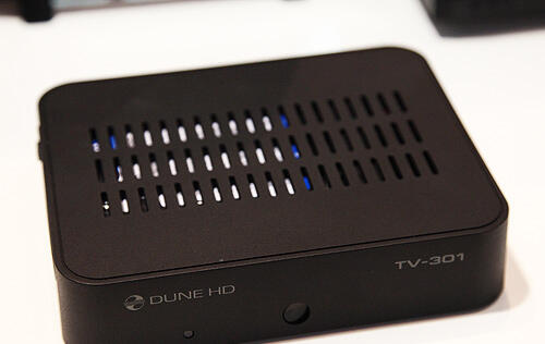 Dune HD Showcases Upgrade to the TV-101 with the Upcoming TV-301